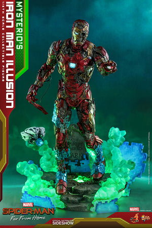 Marvel Hot Toys Spider-Man Far From Home Mysterios Iron Man Illusion 1:6 Scale Action Figure MMS580 Pre-Order