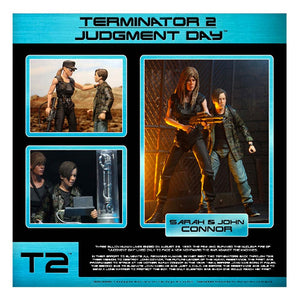 Terminator Neca T2 Sarah & John Connor Action Figure 2-Pack