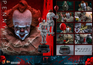 IT Hot Toys Pennywise 1:6 Scale Action Figure MMS555 Pre-Order