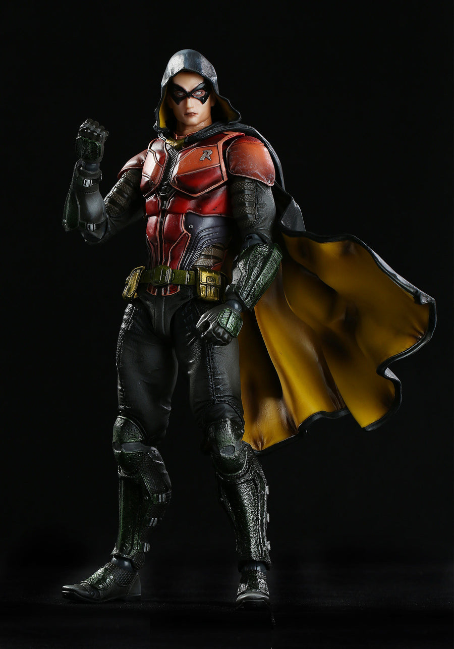 DC Square Enix Play Arts Kai Arkham City Robin Action Figure
