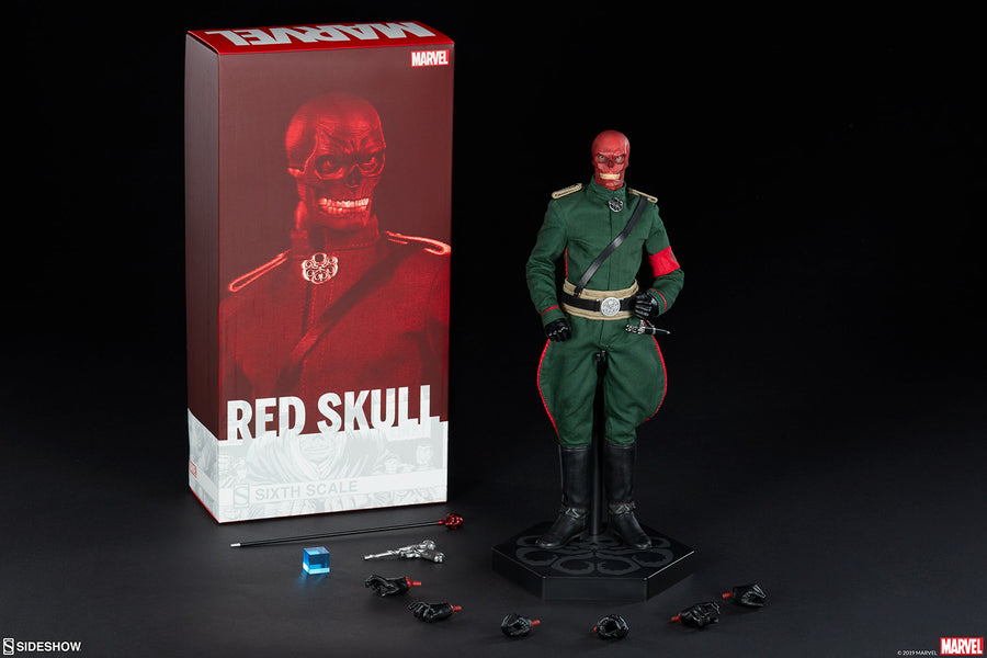 Marvel Sideshow Collectibles Captain America Red Skull 1:6 Scale Action Figure