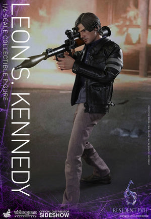 Resident Evil Hot Toys Leon S Kennedy 1:6 Scale Action Figure HOTVGM22