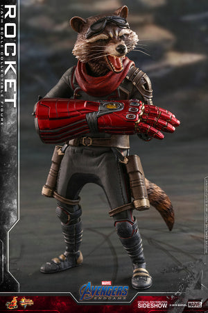 Marvel Hot Toys Avengers Endgame Rocket Raccoon 1:6 Scale Action Figure MMS548