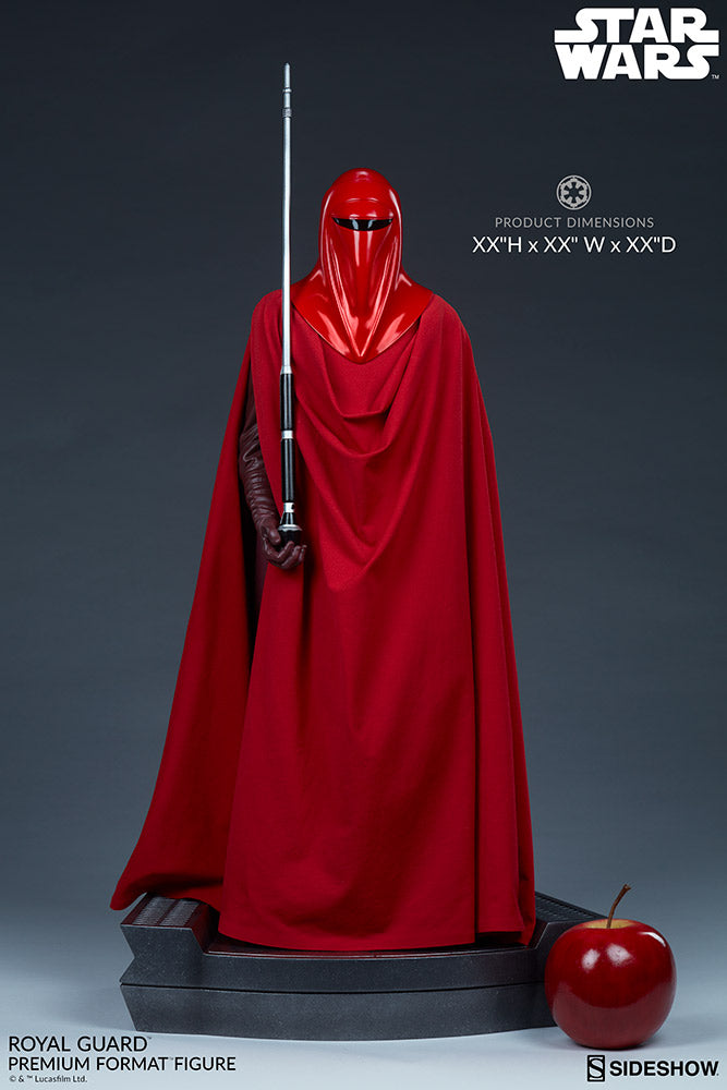 Star Wars Sideshow Collectibles Emperors Royal Guard Premium Format 1:4 Scale Statue Pre-Order