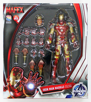 Marvel Mafex Age of Ultron Iron Man Mark 43 Action Figure #13