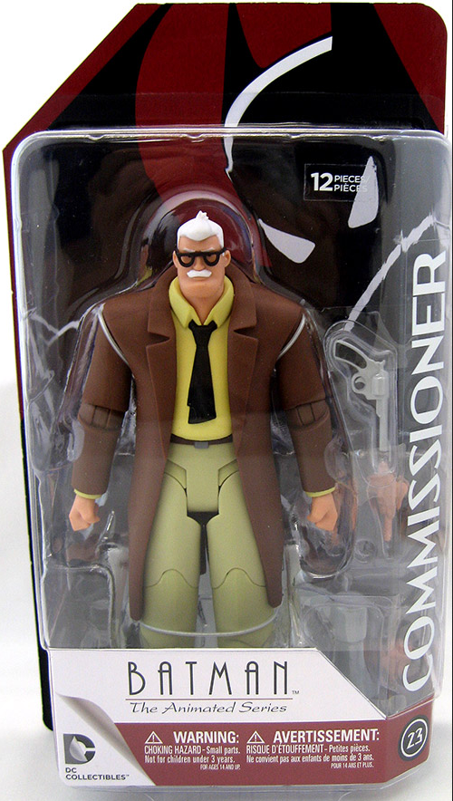 DC Batman The Animated Series Commissioner Gordon Action Figure #23 - Action Figure Warehouse Australia | Comic Collectables