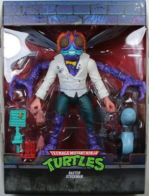 Teenage Mutant Ninja Turtles Super7 Ultimates Baxter Stockman Figure