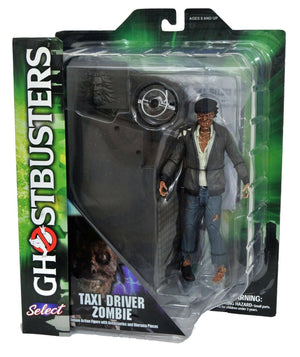Ghostbusters Diamond Select Taxi Driver Zombie Series 5 Action Figure