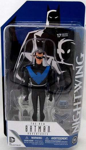 DC Batman The Animated Series Nightwing Action Figure #18 - Action Figure Warehouse Australia | Comic Collectables
