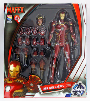 Marvel Mafex Age of Ultron Iron Man Mark 45 Action Figure #22