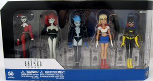 DC Batman The Animated Series Girls Night Out Action Figure 5-Pack #35 - Action Figure Warehouse Australia | Comic Collectables
