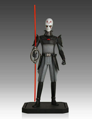 Star Wars Gentle Giant Collectors Gallery Rebels The Inquisitor Maquette Statue