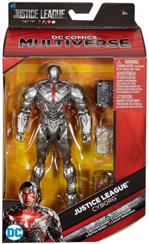 DC Multiverse Exclusive Justice League Cyborg Action Figure