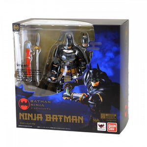 DC Bandai SH Figuarts Ninja Batman Action Figure - Action Figure Warehouse Australia | Comic Collectables