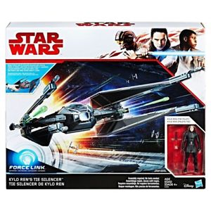 Star Wars The Last Jedi Kylo Ren's Tie Silencer 3.75 Inch