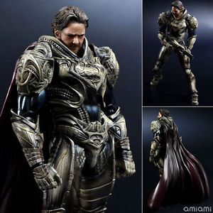 DC Square Enix Play Arts Kai Superman Man of Steel Jor-El Action Figure