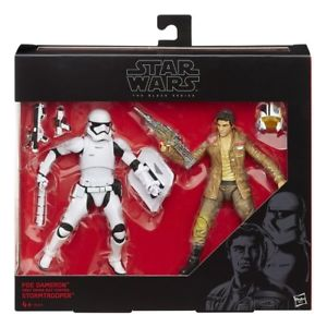 Star Wars Black Series Poe & Riot Stormtrooper 2 Pack Takara Tomy Action Figure