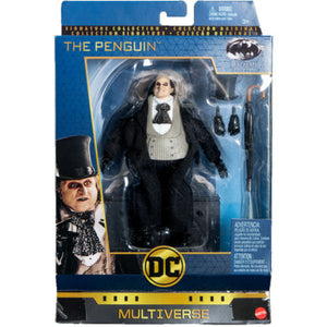 DC Multiverse Deluxe Batman Returns The Penguin Action Figure