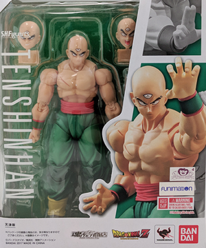 DragonBall Z SH Figuarts Tenshinhan Action Figure - Action Figure Warehouse Australia | Comic Collectables