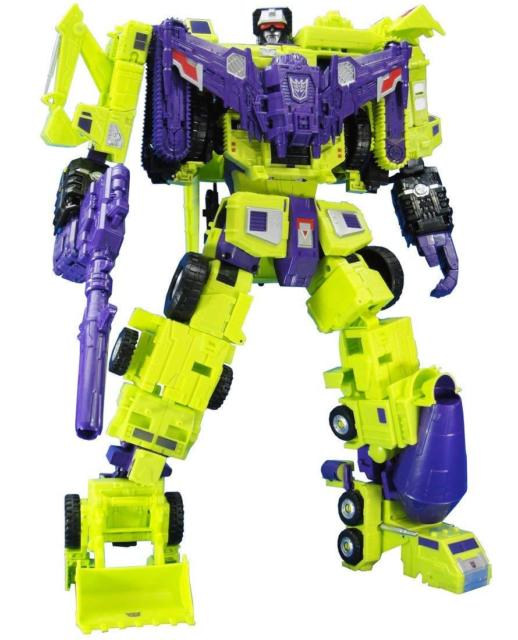 Transformers Takara Tomy Unite Warriors UW-04 Devastator Action Figure Box Set