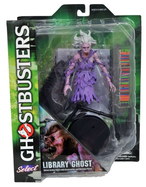 Ghostbusters Diamond Select Library Ghost Series 5 Action Figure