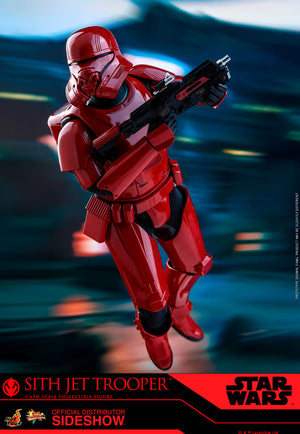 Star Wars Hot Toys Rise of Skywalker Sith Jet Trooper 1:6 Scale Action Figure MMS562 Pre-Order