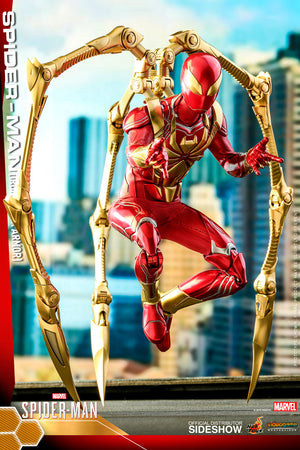 Marvel Hot Toys Spider-Man Iron Spider Armor 1:6 Scale Action Figure VGM38 Pre-Order