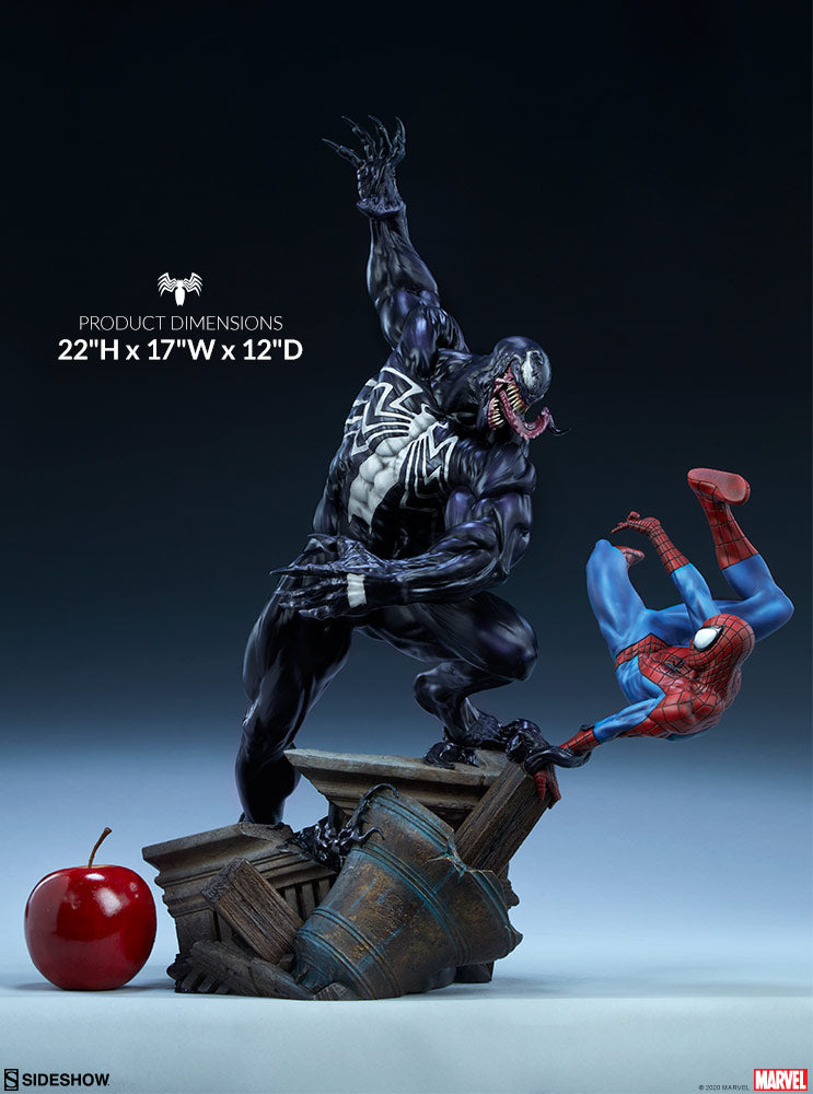 Marvel Sideshow Collectibles Spider-Man vs Venom Maquette Pre-Order