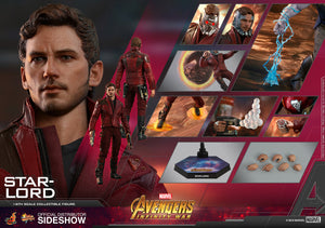 Marvel Hot Toys Infinity War Star Lord 1:6 Scale Action Figure HOTMMS539 Pre-Order