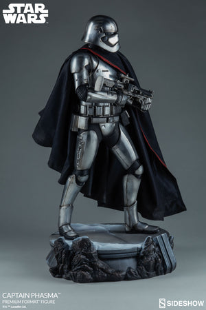 Star Wars Sideshow Collectibles Force Awakens Captain Phasma Premium Format 1:4 Scale Statue