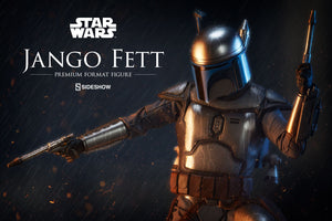 Star Wars Sideshow Collectibles Attack of the Clones Jango Fett Premium Format 1:4 Scale Statue