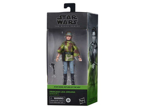 Star Wars Black Series Princess Leia Endor Gear Action Figure Pre-Order