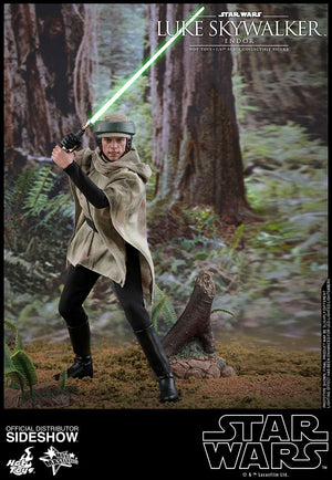 Star Wars Hot Toys Return Of The Jedi Luke Skywalker Endor 1:6 Scale Action Figure MMS516