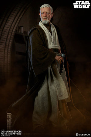 Star Wars Sideshow Collectibles A New Hope Obi-Wan Kenobi Premium Format 1:4 Scale Statue Pre-Order