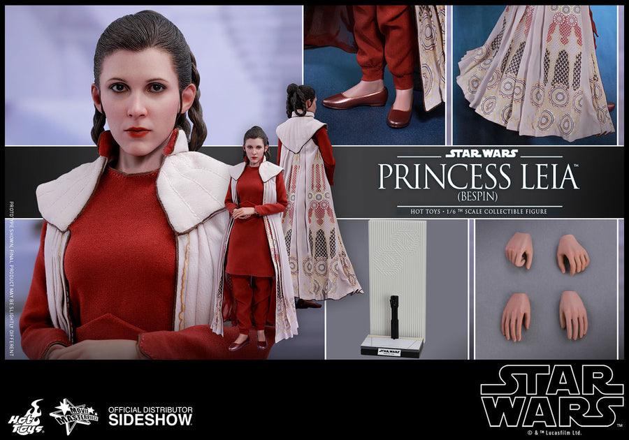 Star Wars Hot Toys Empire Strikes Back Princess Leia Bespin 1:6 Scale Action Figure HOTMMS508 Pre-Order