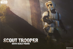Star Wars Sideshow Collectibles Return of the Jedi Scout Trooper 1:6 Scale Action Figure