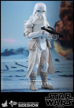 Star Wars Hot Toys Empire Strikes Back Snowtrooper 1:6 Scale Action Figure HOTMMS397