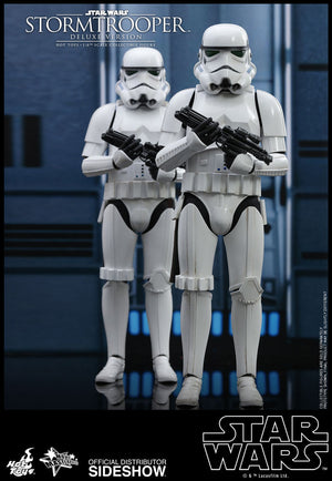 Star Wars Hot Toys Deluxe Classic Stormtrooper 1:6 Scale Action Figure HOTMMS515 Pre-Order