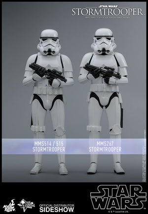 Star Wars Hot Toys Classic Stormtrooper 1:6 Scale Action Figure MMS514