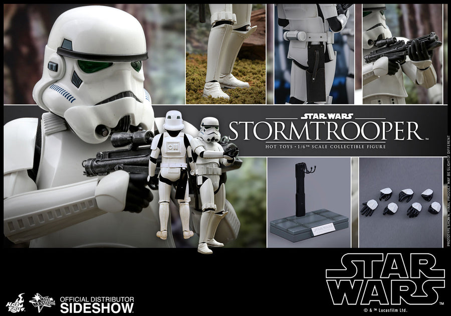 Star Wars Hot Toys Classic Stormtrooper 1:6 Scale Action Figure HOTMMS514 Pre-Order