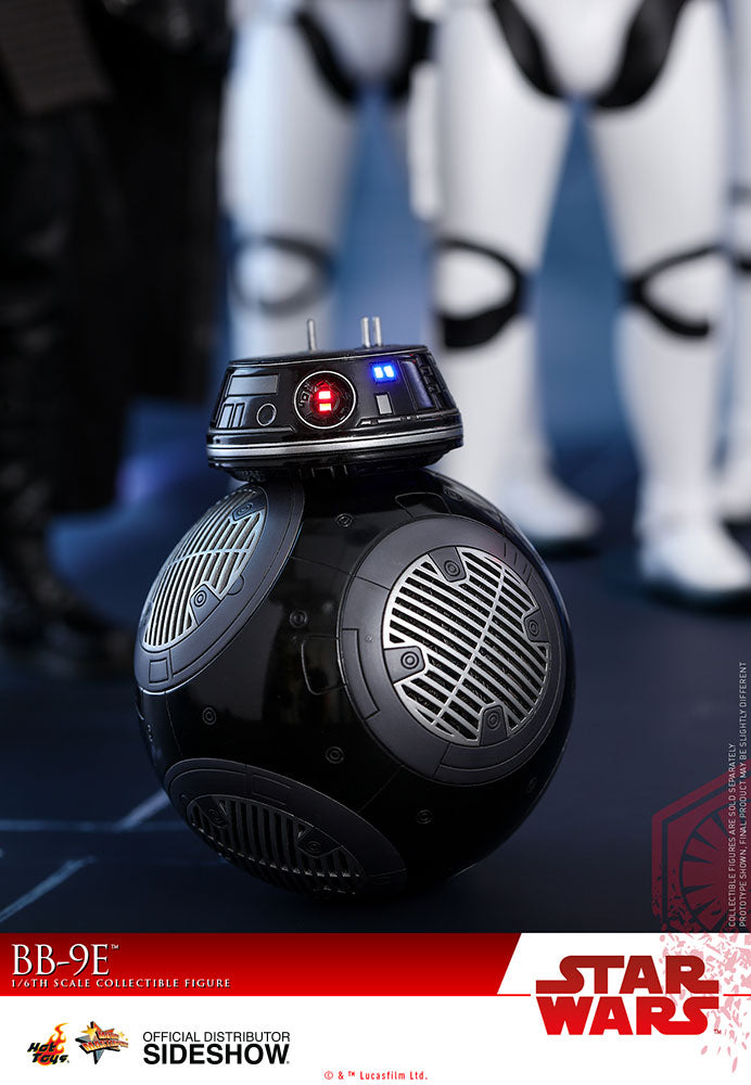 Star Wars Hot Toys BB-9E 1:6 Scale Action Figure Set HOTMMS441