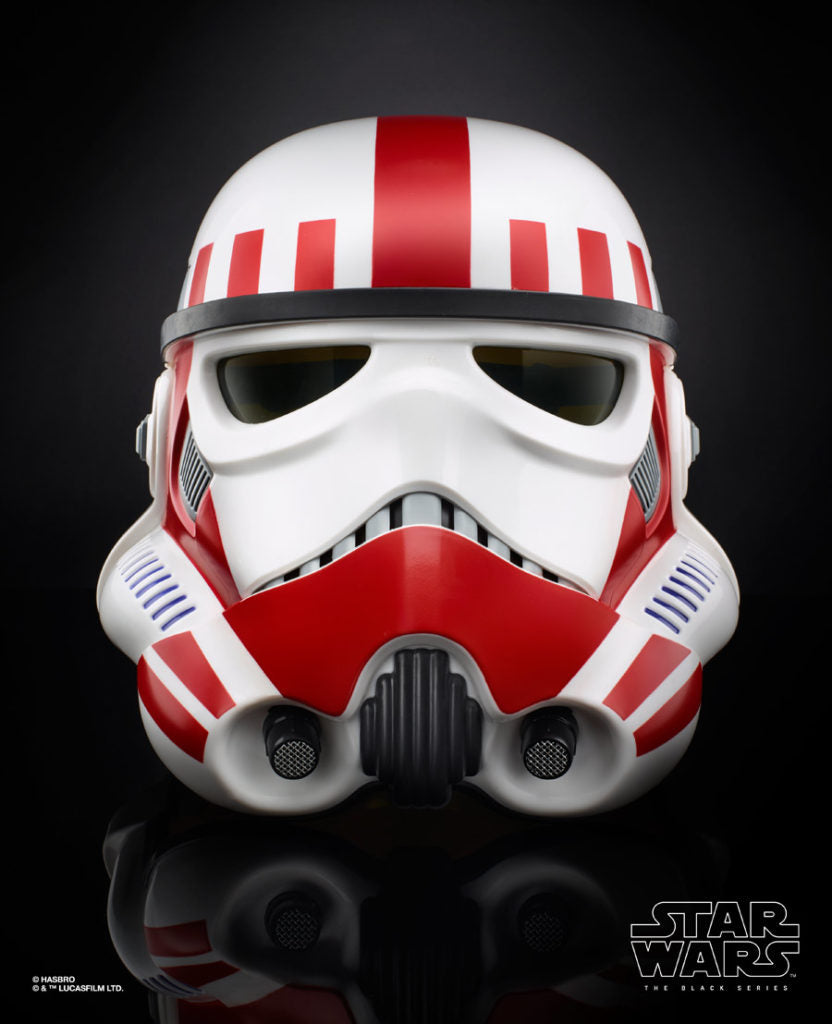 Star Wars Black Series Exclusive Battlefront II Imperial Shocktrooper Helmet 1:1 Scale Prop Replica