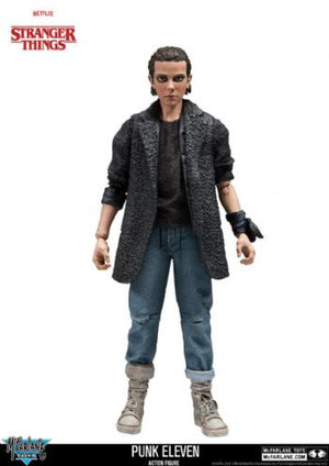 Stranger Things Punk Eleven Action Figure