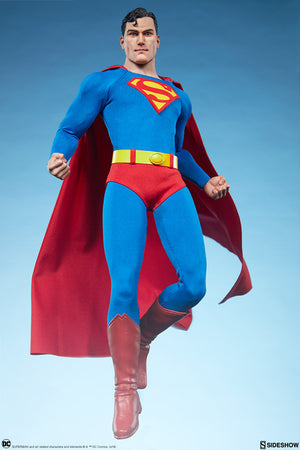 DC Sideshow Collectibles Superman 1:6 Scale Action Figure Pre-Order