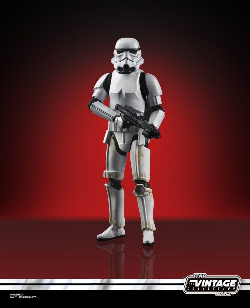 Star Wars The Vintage Collection Imperial Stormtrooper Action Figure Coming Soon