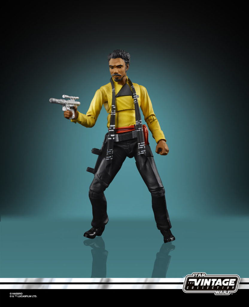 Star Wars The Vintage Collection Lando Calrissian Action Figure Coming Soon