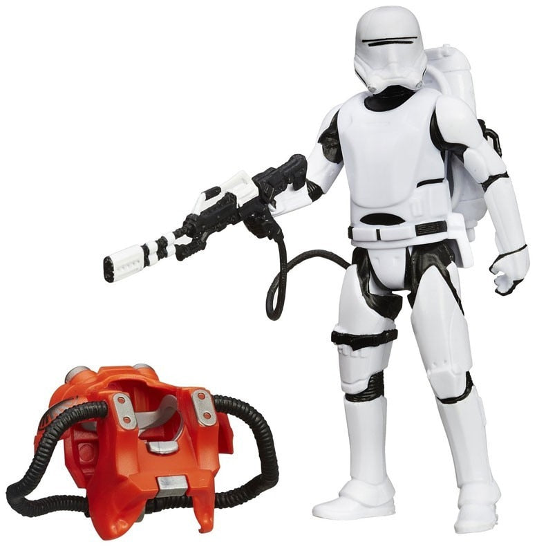 Star Wars Force Awakens Deluxe First Order Flametrooper Action Figure