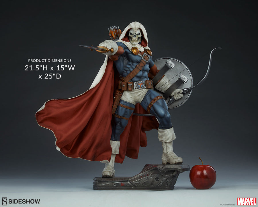 Marvel Sideshow Collectibles Taskmaster Premium Format 1:4 Scale Statue Pre-Order