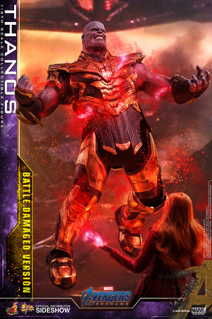 Marvel Hot Toys Avengers Endgame Battle Damaged Thanos 1:6 Scale Action Figure MMS564 Pre-Order