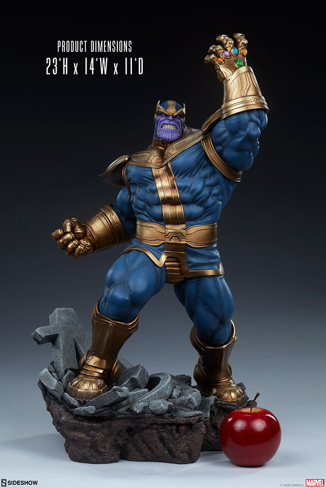 Marvel Sideshow Collectibles Avengers Assemble Thanos Modern Statue Pre-Order